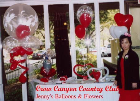 {Jenny's Booth at Crow Canyon Country Club}