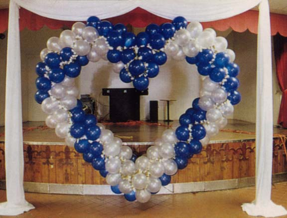 {Blue heart for your wedding}