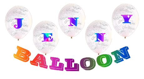 {Welcome to Jenny's Graduation Balloon Homepage!}