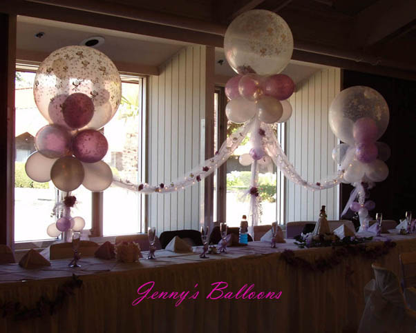 Quinceanera Balloons Decoration