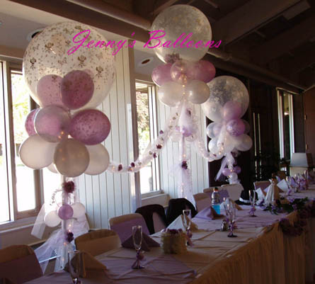 Quinceanera balloons decoration for Balloon decoration ideas for quinceaneras