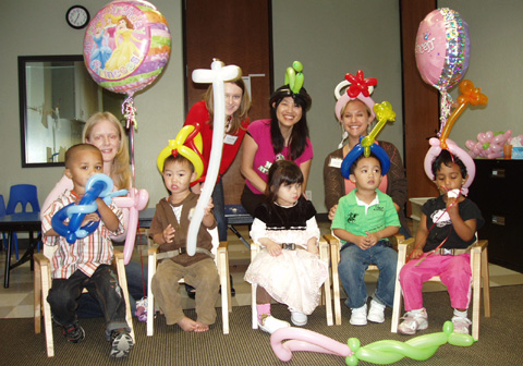 {Alysa's 3rd birthday party at school}