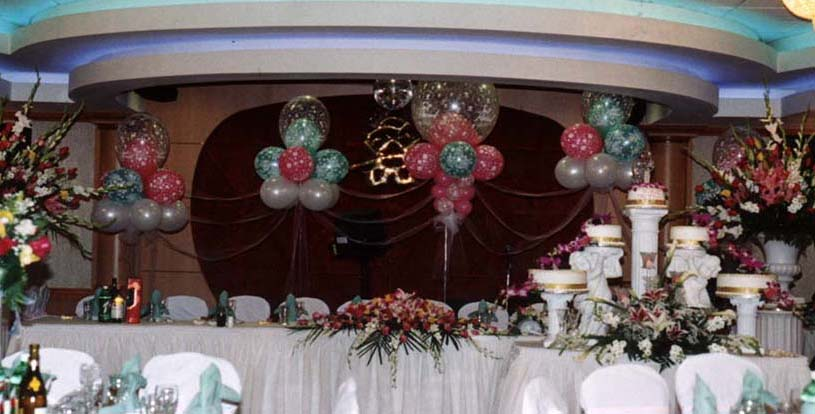 {Balloon for Kim Thi's Wedding Party at Dynasty}